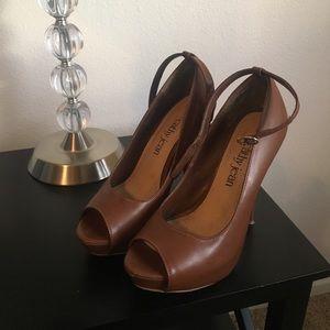 Brown Cathy Jean heels